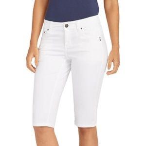 Tommy Bahama Denim White Clam Digger Shorts 4